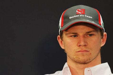 Nico Hülkenberg hatte sich bei Sauber mehr die die bisher 5 WM-Punkte erwartet