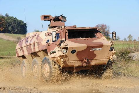 Transportpanzer Fuchs 1A8: Vorstellung