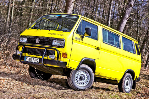 VW Bus T3 Multivan syncro