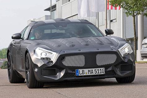 Mercedes GT (2016): Vorschau
