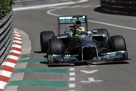 Nico Rosberg bleibt auch am Samstag in Monte Carlo der dominierende Fahrer