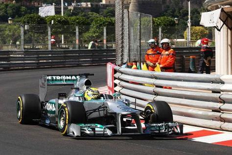 Nico Rosberg startet beim Klassiker in Monte Carlo von der Pole-Position