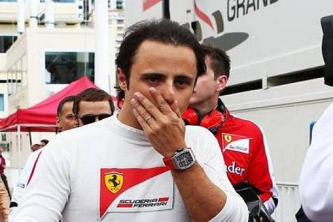 Felipe Massa ahnte nach seinem Trainingsunfall schon schlimmes
