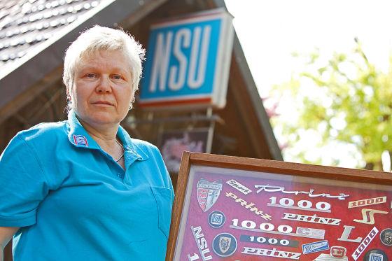 Ingrid Ohlhausen (52), NSU Prinz 2 von 1959