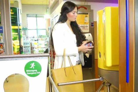 Toilettengebühr in Autohöfen
