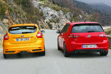 Golf GTI/Focus ST: Test