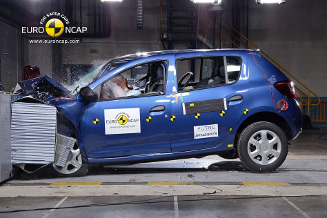 crashtest dacia sandero chevrolet trax renault captur. Black Bedroom Furniture Sets. Home Design Ideas