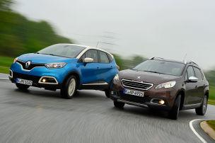 Peugeot 2008 Renault Captur