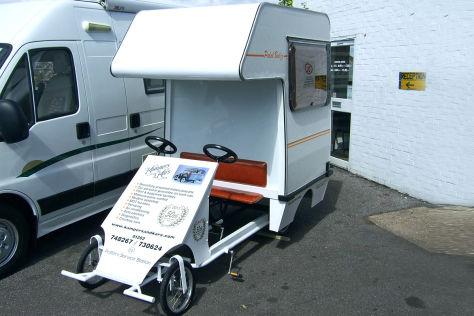 Kleinstes Wohnmobil der Welt: Pedal Bedzz