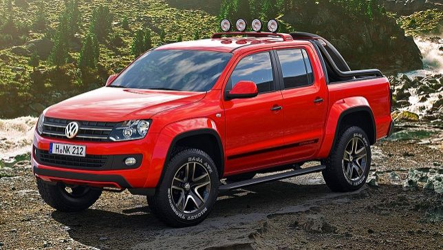 video vw amarok canyon. Black Bedroom Furniture Sets. Home Design Ideas