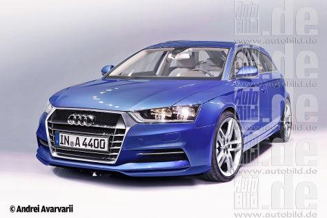 Audi A4 (2014): Vorschau