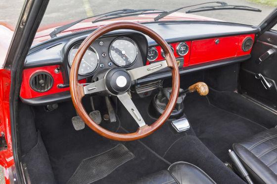 Alfa Romeo im Innenraum