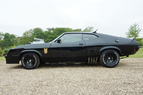 FALCON XB GT Coupe 6.5 V8 Interceptor MAD MAX schräg vorne
