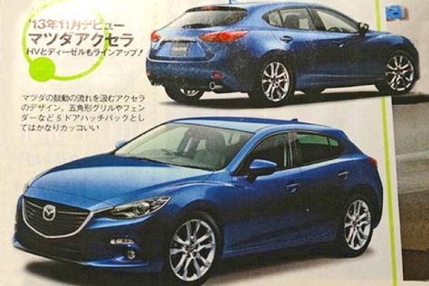 Mazda3 (2014): Erste Bilder