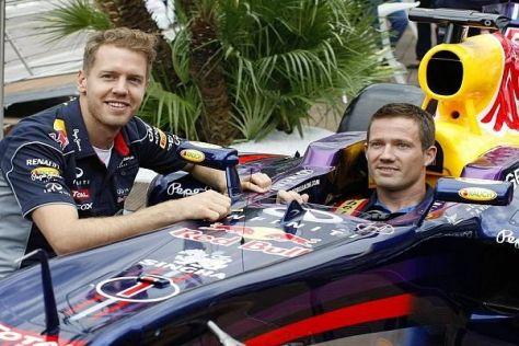 Aktuell die jeweils Klassenbesten: Sebastian Vettel und Sebastien Ogier