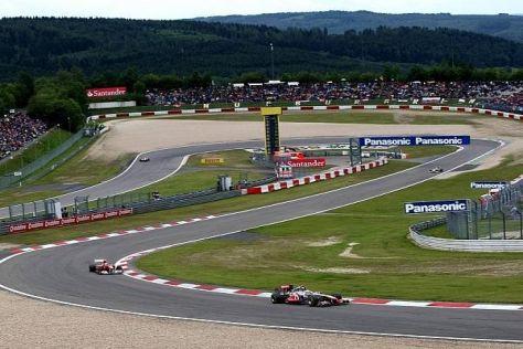 Auf dem Nürburgring gastierte die Formel 1 zuletzt in der Saison 2011