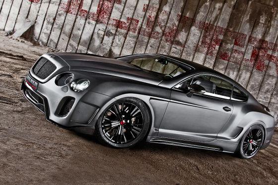 Tuning: Vilner Bentley Continental GT, Body-Kit, 100 ...