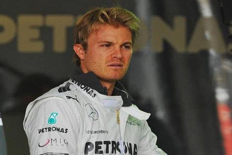 Nico Rosberg wusste beim Pirelli-Test durchaus über die Reifen Bescheid