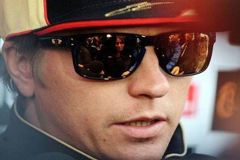 Kimi Räikkönens Meinung über Sergio Perez wird sich auch in einem Jahr nicht ändern...