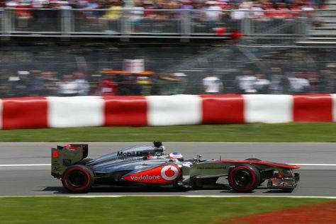 Kanada: Jenson Button beendete das Rennen frustriert auf Platz zwölf