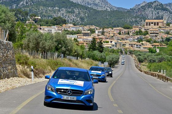 Die Spar-Mobile: Mercedes-Benz A-Klasse
