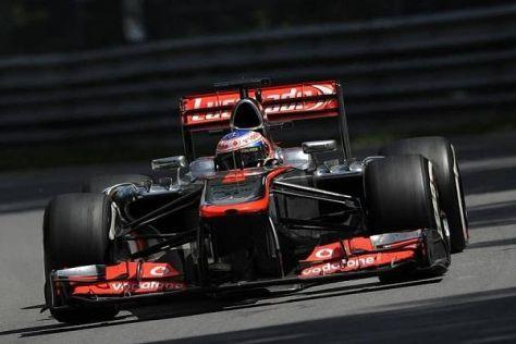 Jenson Button und McLaren fuhren in Montreal ein enttäuschendes Rennen