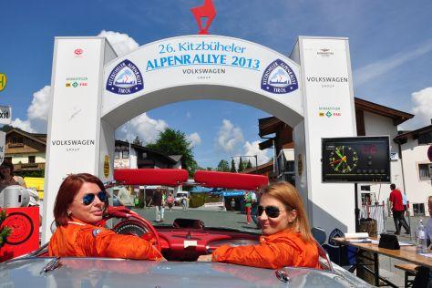Christine Nothhaft und Claudia Hamberger 26. Alpenrallye