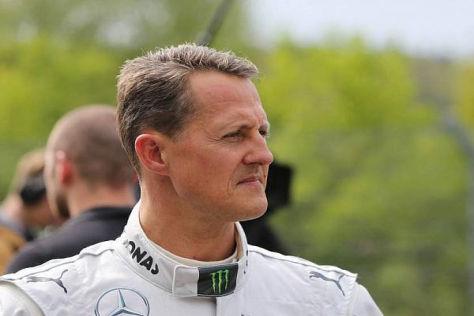 Auch ohne Rennen: Schumacher fährt gerne Silberpfeil