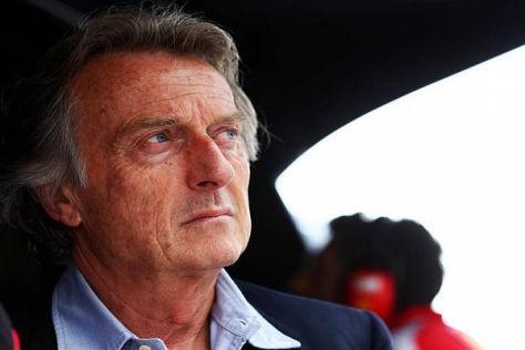 Ferrari-Präsident Luca di Montezemolo wünscht sich eine Strafe für Mercedes