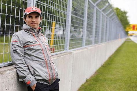 Sergio Perez lässt sich von der Kritik der vergangenen Woche nicht stören