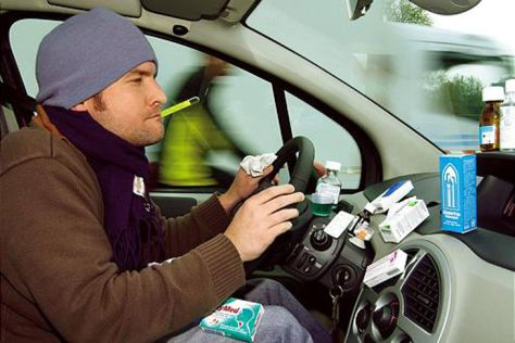 Autofahren unter Medikamenteneinfluss