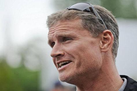 Gequälter Blick: David Coulthard leidet mit seinem Ex-Team mit