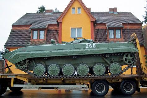 Hornbach: Baumarkt-Panzer