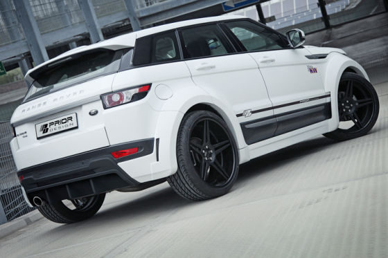 range rover evoque tuning von prior design. Black Bedroom Furniture Sets. Home Design Ideas