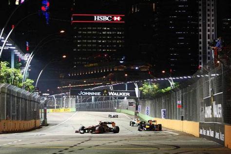 Der Härtetest der Formel 1: die Hitzeschlacht in den Straßen von Singapur