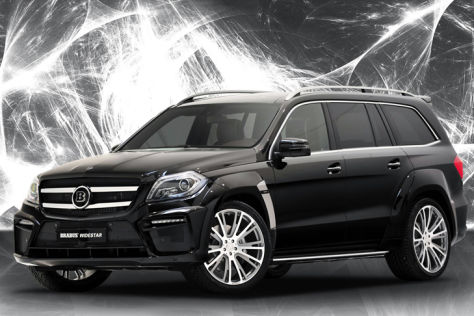 mercedes benz gl 63 amg tuning von brabus. Black Bedroom Furniture Sets. Home Design Ideas