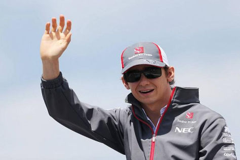 Sauber-Rookie Esteban Gutierrez bleibt trotz der Negativserie positiv