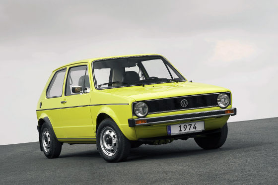 VW Golf I (Baujahr 1974)