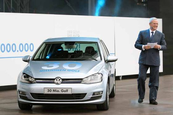 VW feiert 30-millionsten Golf