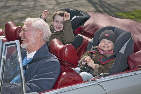 Kindersicherheit im Oldtimer