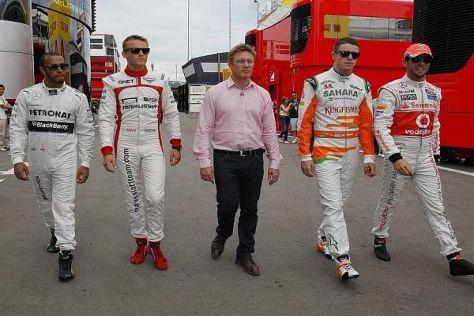 Die Queen schickt ihre Besten: Vier britische Fahrer starten in Silverstone