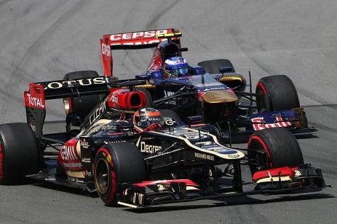 Kimi Räikkönen war bisher der beste Überholer in der Formel-1-Saison 2013