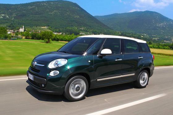 Fiat 500L Living IAA 2013