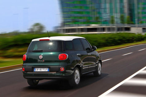 Fiat 500L Living Siebensitzer