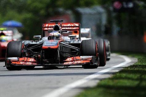 Jenson Button ist sich sicher, dass McLaren bald wieder um Siege fahren wird
