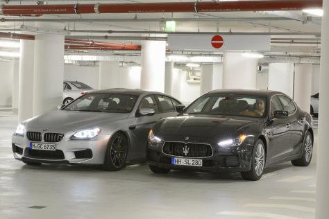 BMW M6 Maserati Ghibli