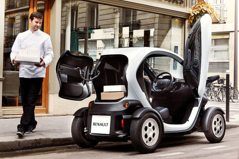 renault twizy cargo vorstellung und preis. Black Bedroom Furniture Sets. Home Design Ideas