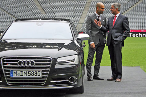 photo of Josep Guardiola Ausi S8 - car
