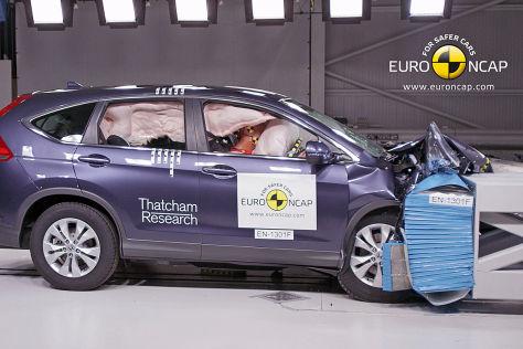 Euro NCAP Crashtest Juni 2013