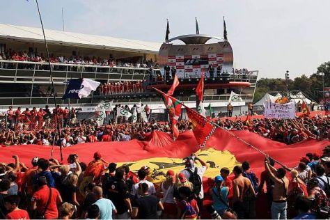 Monza ist Ferrari-Land, aber felsenfest steht es nicht im Formel-1-Kalender